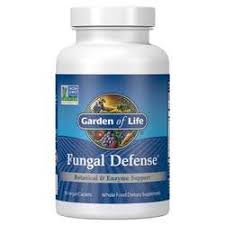 Garden of Life <b>Fungal Defense</b> - <b>84 Caplets</b> - eVitamins.com
