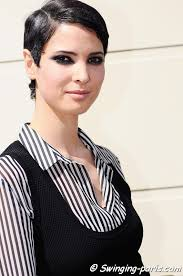 Hanaa <b>Ben Abdesslem</b> after Jean Paul Gaultier show, Paris Couture Fashion <b>...</b> - Hanaa-Ben-Abdesslem-52