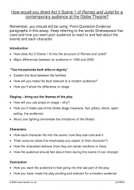 romeo and juliet act scene ks resources all 2 preview