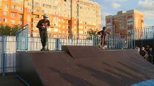 В Строителе открылся <b>скейт</b>-парк