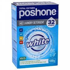 Стиральньный порошок для белого белья <b>Posh One 1</b> кг