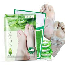 <b>4PCS</b>=<b>2Pack</b> Exfolianting <b>Foot Mask</b> Foot <b>Peeling</b> Mask Pedicure ...