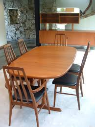 Teak Dining Room Chairs Dining Room Natural Teak Dining Room Set To Get Traditional Touch