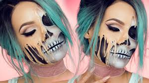 halloween makeup tutorials for 2016 her campus here is another glam skull makeup look i just can t get enough of them this one is provided by the one and only desi perkins i absolutely adore her and