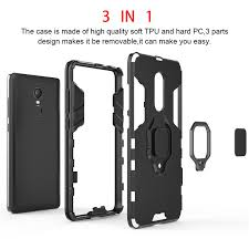 WeeYRN <b>Magnetic Stand Ring Case</b> Xiaomi Redmi Note 4 4X ...
