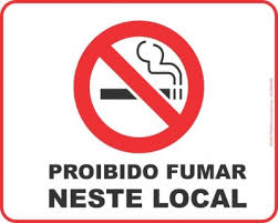 Resultado de imagem para proibido fumar