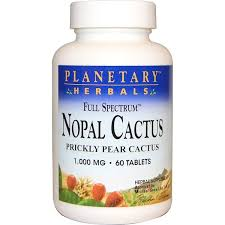 Planetary Herbals, <b>Nopal Cactus</b>, <b>Full Spectrum</b>, Prickly Pear Cactus ...