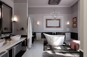 small bathroom chandelier crystal ideas: gorgeous bathroom design ideas collection in modern style bathroom