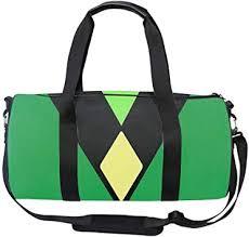 Round Peridot's Uniform Gym Duffle <b>Bag</b> Drum tote <b>Fitness</b> ...