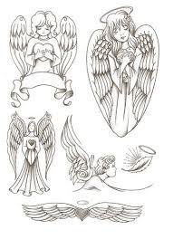 АНГЕЛЫ   Tatouage pied cheville, Idées de tatouages, Ailes d'ange