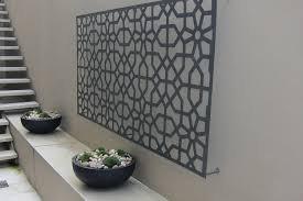 decorating ideas wall art decor: artistic outdoor wall art is designed using the amazing design astonishing outdoor wall art stips