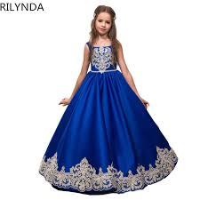 Royal Blue Flower <b>Girl Dresses</b> for <b>Wedding</b> Cinderella <b>Girls Dress</b> ...