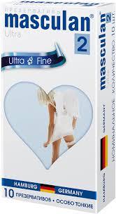 <b>Презервативы Masculan 2 Ultra</b> №10 особо тонкие, прозрачные ...