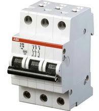 ABB S203P <b>Автоматический выключатель 3P 10А</b> (С) 25kA ...
