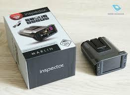 Обзор видеорегистратора и <b>радар</b>-<b>детектора Inspector Marlin</b>