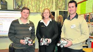 teachers engage robotic technology photos the advertiser involved james marks and kevin mcmullen from rutherford technology high school