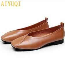 <b>Aiyuqi women's</b> casual <b>shoes</b> autumn genuine leather <b>women</b> flat ...