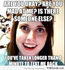 13 Signs You Have An Overly Attached Girlfriend | Identity Magazine via Relatably.com