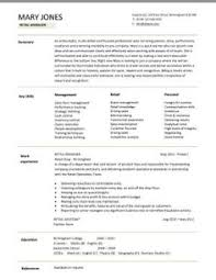 ideas about sales resume on pinterest   executive resume    retail cv template   s environment   s assistant cv  shop work  store manager
