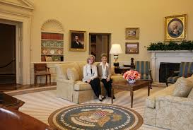 recreating the oval office at the george w bush presidential center urban planning and design architecture and design bill clinton oval office rug