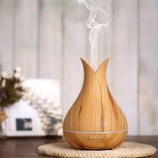 Online Shop AC100-240V 14W 6LED <b>Wood Grain Aroma</b> Diffuser ...