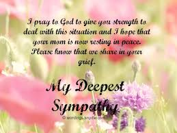 Sympathy Messages for Loss of a Mother | Wordings and Messages