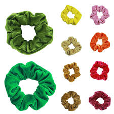<b>Silky Satin Elastic</b> Hair Bands Scrunchies <b>Elastic</b> Solid Color Hair ...