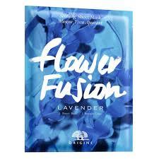 <b>Flower Fusion</b> Lavender Sheet Mask - <b>Origins</b> | MECCA