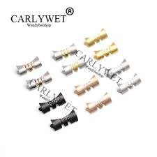 <b>CARLYWET</b> 19 <b>20mm New</b> Stainless Steel Silver Watch Band ...