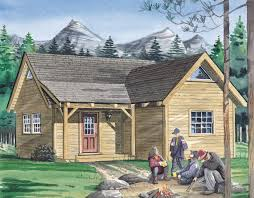 The Denver   Timber Frame HQThe Denver Cottage   An ideal cottage plan or country home design  These warm and inviting cabins   many   sleeping lofts   offer all the features of our