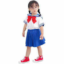Japanese <b>Anime</b> Pretty Guardian Cosplay Costume <b>Children Girls</b> ...