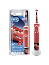 <b>Детская электрическая зубная</b> щётка Kids Тачки, 3+ лет Oral-B ...