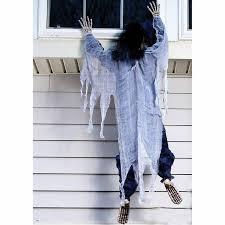 5' Climbing Dead <b>Horror</b> Zombie Figure <b>Halloween Prop</b> House ...