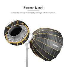 <b>NiceFoto</b> LED-Φ90cm Quick Set-up Folding Deep Parabolic ...