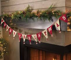 <b>Merry Christmas Garland</b>: Olive & Cocoa