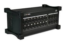 <b>Allen &</b> Heath выпускает <b>модуль расширения</b> DX168 для dLive ...