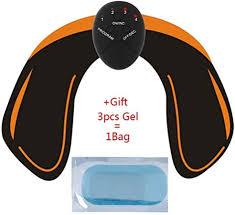 GODVC <b>Electric Muscle</b> Stimulator <b>Ems Wireless</b> Buttocks Hip ...