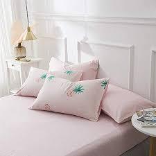 EnjoyBridal Pink Pineapple Fitted Sheet Full, Anti ... - Amazon.com