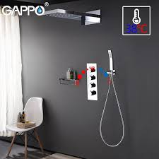 GAPPO Shower Faucet Bathtub Shower Faucet Bathroom Mixer ...