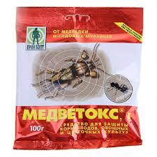 <b>Средство от муравьев</b> и медведки МЕДВЕТОКС Грин Бэлт 100 г ...