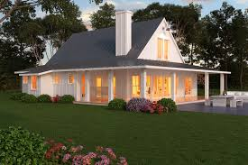 Farmhouse Style House Plan   Beds   Baths Sq Ft Plan