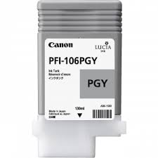 <b>Canon PFI-106PGY Photo Gray</b> Ink Tank | BlueDogInk.com