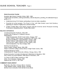 home economics teacher resume examplehome economics teaching resume example