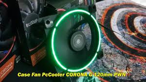 Распаковка и обзор корпусного кулера <b>Pccooler 120mm Fan</b> ...