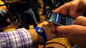 <b>Samsung Wristband</b> Reprogrammed with NFC LaunchIt - YouTube