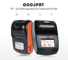 POS Printers <b>GOOJPRT PT</b>-210 Portable Thermal Printer Handheld ...