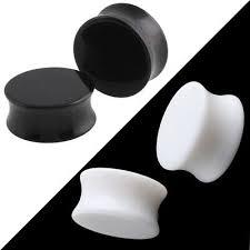 <b>3</b>-<b>30mm Acrylic</b> Solid <b>Ear</b> plug Earing Stretcher Flesh Tunnel <b>Ear</b> ...