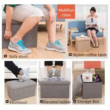Ящик для хранения Османской <b>пуф куб</b> складные Lounge диван ...