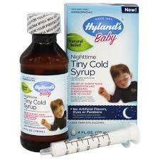 Hyland's <b>Baby</b> Nighttime <b>Tiny Cold Syrup</b> - 4oz