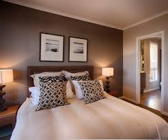 master bedroom feature wall: beautiful feature wall colour in this master bedroom i love the different shades of brown